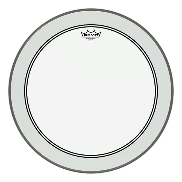 Remo P3-1320-C2 20-Inch Powerstroke 3 Coated Bass Drum Head