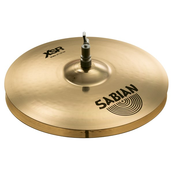 Sabian XSR1402B 14-Inch XSR Hi-Hat Cymbals - Brilliant Finish