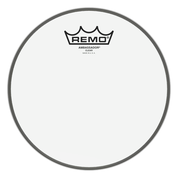 Remo BA-0308-00 8inch Clear Ambassador Batter Drumhead