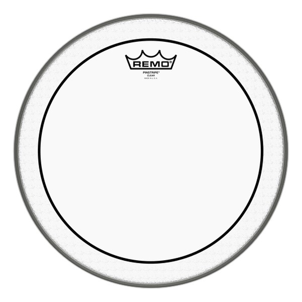 Remo PS-0313-00 13-Inch Pinstripe Clear Drumhead