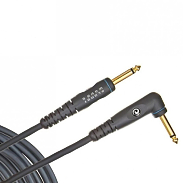 D'Addario Planet Waves PW-GRA-10 Custom Series Instrument Cable Right Angle - 10 Feet<br>PW-GRA-10