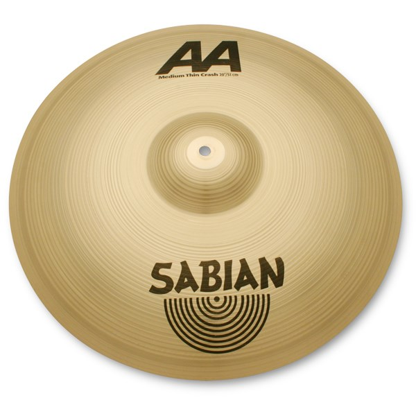 Sabian 21607 16-Inch AA Medium Thin Crash Cymbal