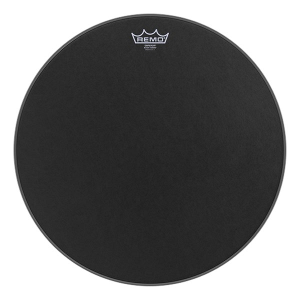 Remo BE-0818-ES Black Suede Emperor 18inch Tom Batter Drumhead