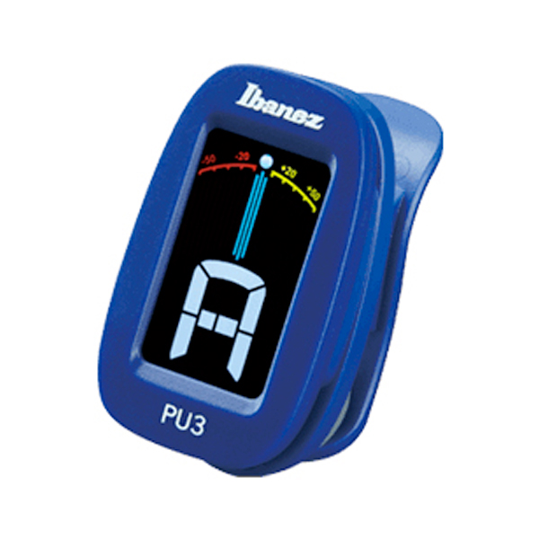 Ibanez PU3 Chromatic Clip Tuner<br>PU3