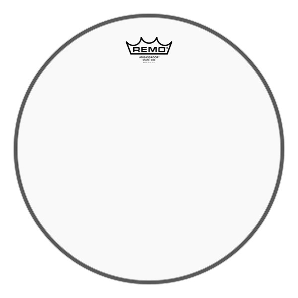 Remo SA-0312-TD 12-Inch Clear Ambassador Snare Drum Head
