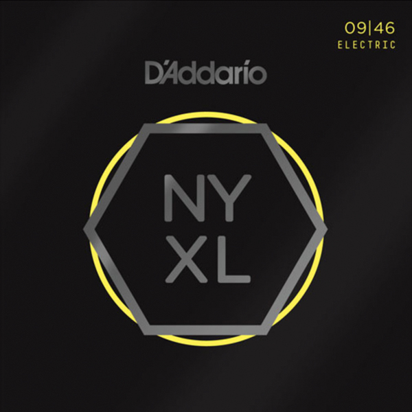 D'addario NYXL0946 Nickel Wound Electric Strings<br>NYXL0946