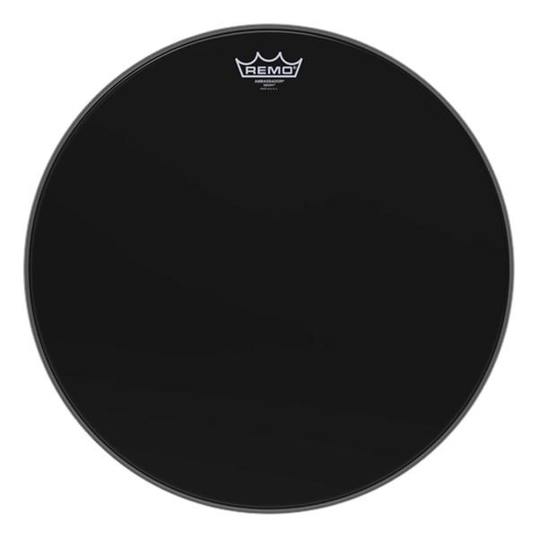 Remo ES-0018-00 Ebony Ambassador 18inch Drum Head