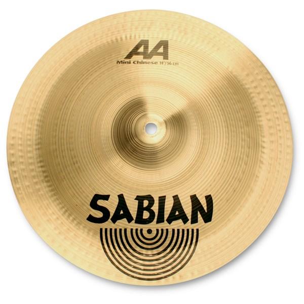Sabian 21216 12-Inch AA Mini Chinese Cymbal