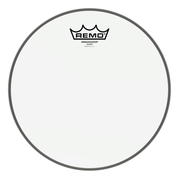 Remo BA-0310-00 10inch Clear Ambassador Batter Drumhead