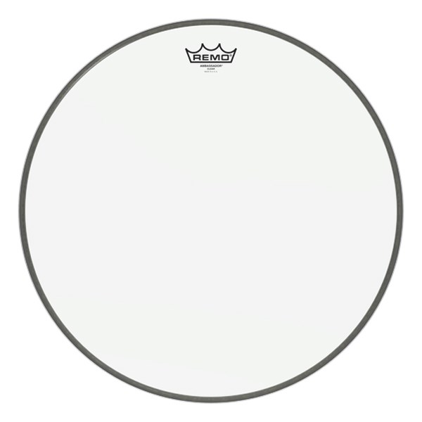 Remo BR-1318-00 Clear Ambassador Batter 18inch Bass Drum Head