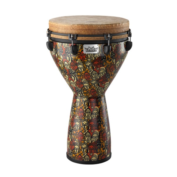 Remo DJ-0014-LM Key-Tuned 25x14inch Leon Mobley Djembe