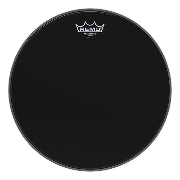 Remo ES-0008-00 Ebony Ambassador 8inch Drum Head