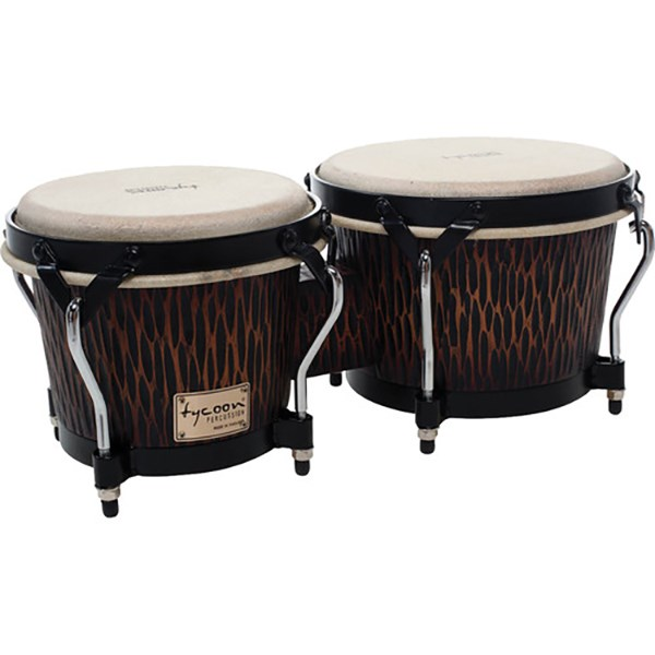 Tycoon STBS-B Supremo Select Series 7/8.5-Inch Bongos