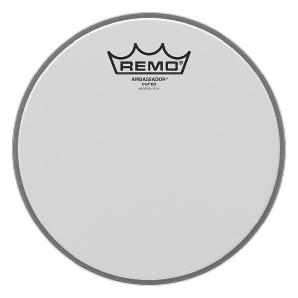 Remo BA-0108-00 8inch Coated Ambassador Batter Drumhead