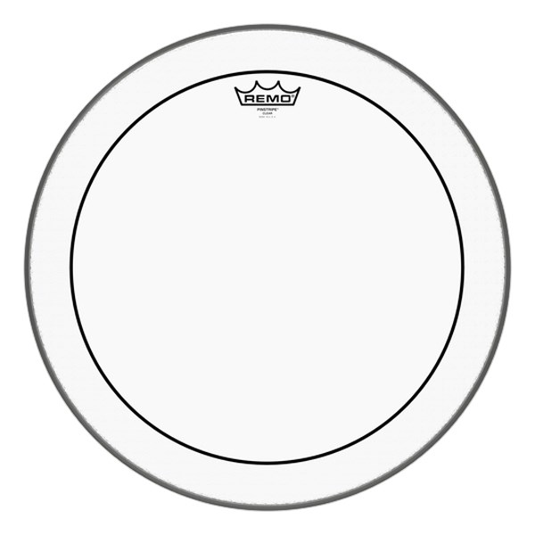 Remo PS-0318-00 18-Inch Pinstripe Clear Drumhead
