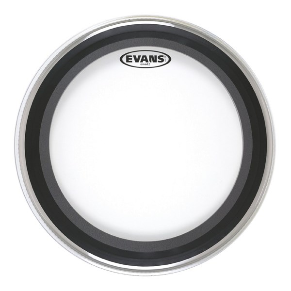 Evans BD20EMAD2 EMAD 2 20 Inch Bass Drum Head