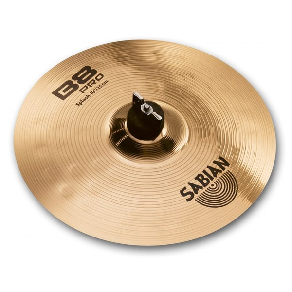 Sabian 31005B 10-Inch B8 Pro China Splash Cymbal - Brilliant Finish