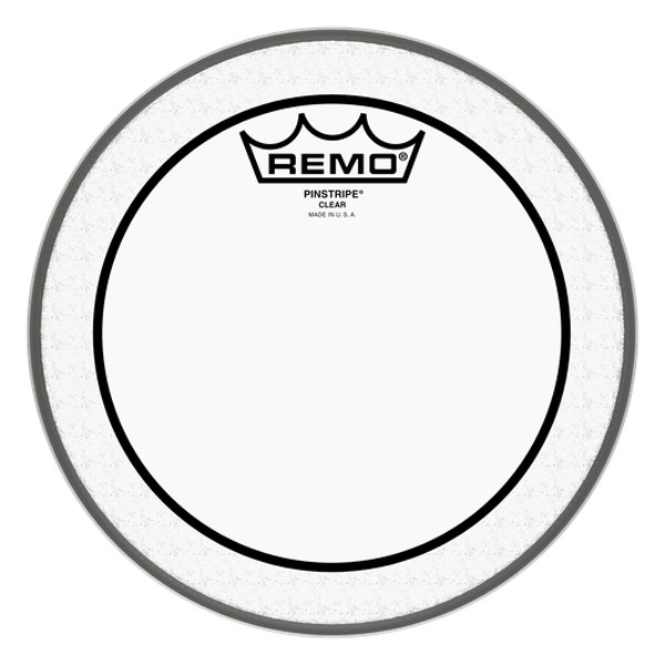 Remo PS-0308-00 8-Inch Pinstripe Clear Drumhead