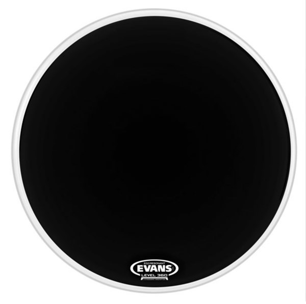 Evans BD18RB-NP EQ3 Resonant Black 18 Inch Bass Drum Head