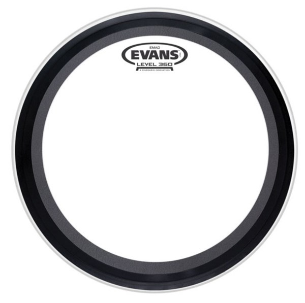 Evans BD18EMADCW EMAD 18 Inch Bass Drum Head