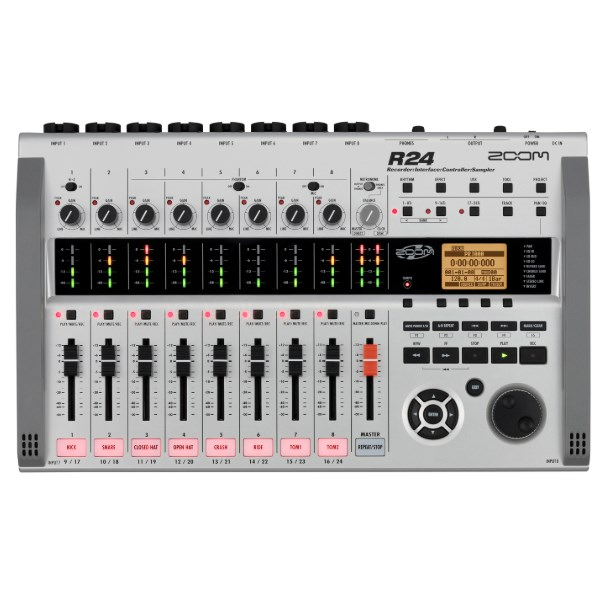 Zoom R24 Recorder / Interface / Controller / Sampler