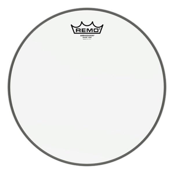 Remo SA-0112-00 12-Inch Hazy Ambassador Snare Drum Head