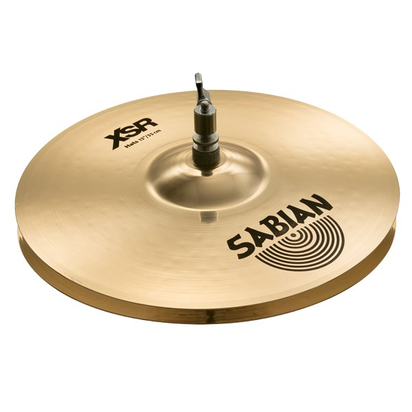 Sabian XSR1302B 13-Inch XSR Hi-Hat Cymbals - Brilliant Finish