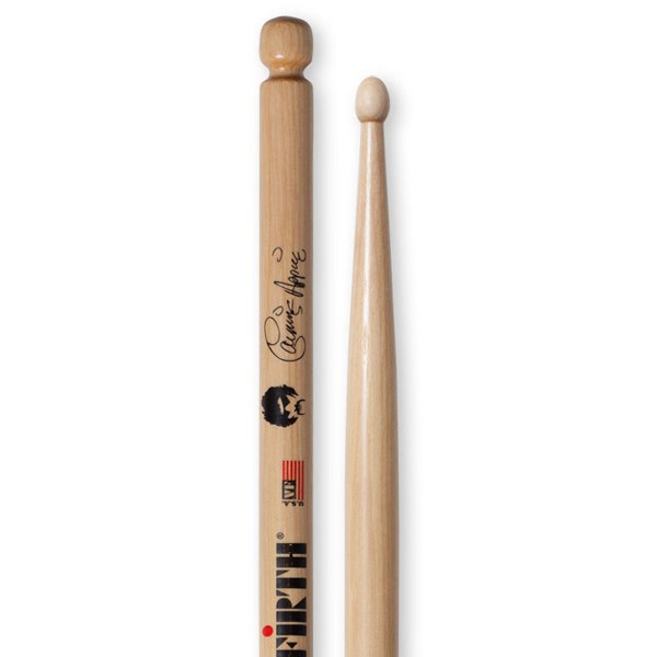 Vic Firth SCA Carmine Appice Signatue Hickory Wood Tip Drumsticks