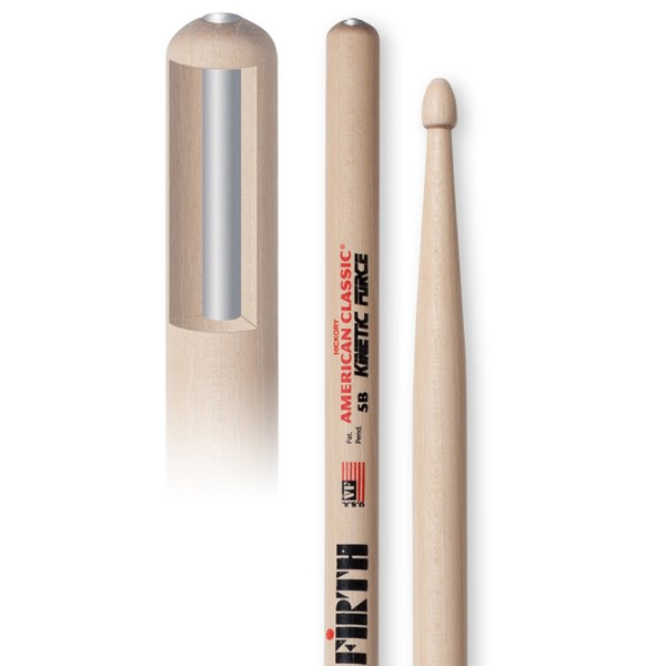 Vic Firth 5BKF American Classic Kinetic Force Drumsticks