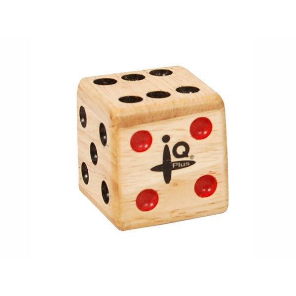 IQ Plus IQ-W014-00 Small Wooden Dice Shaker