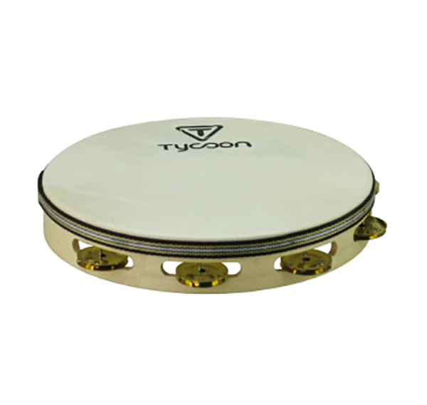 Tycoon TBW10DBB Tambourin Double Row With Brass Jingles
