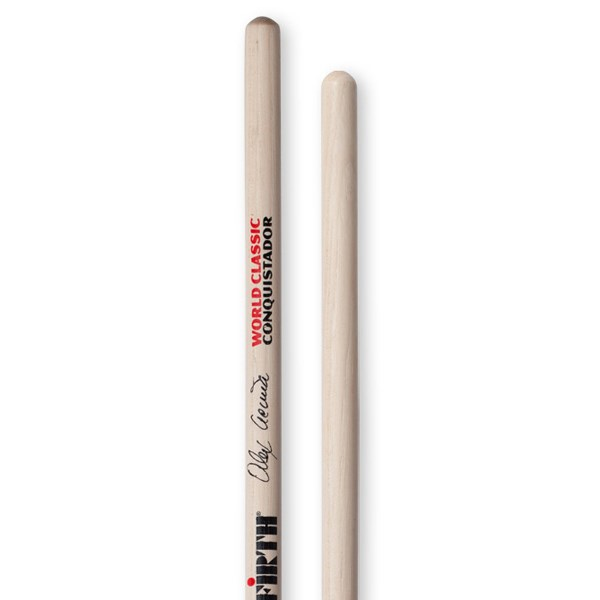 Vic Firth SAAC Alex Acuna Clear Conquistador Timbale Sticks