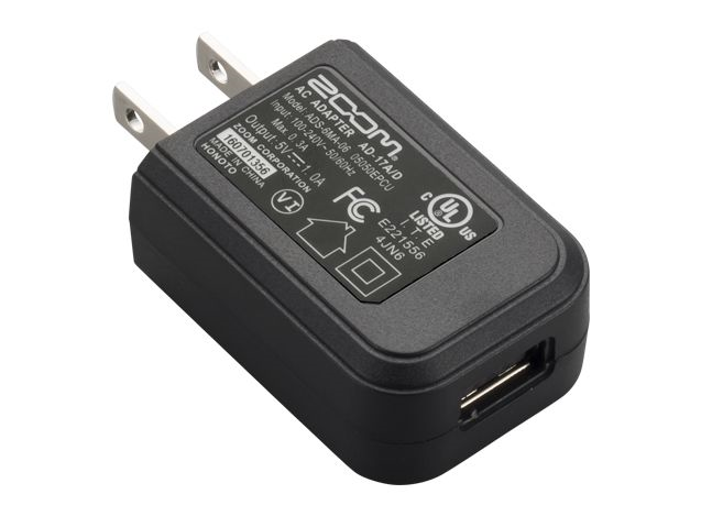 Zoom AD-17E AC Power Supply Adapter