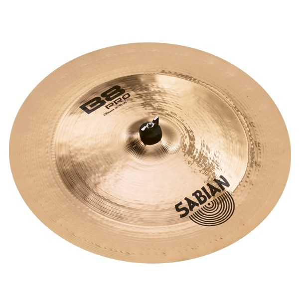 Sabian 31816B 18-Inch B8 Pro China Cymbal - Brilliant Finish