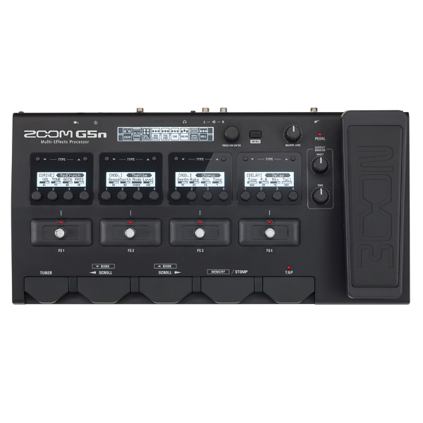Zoom G5n Multi-Effects Processor<br>G5n