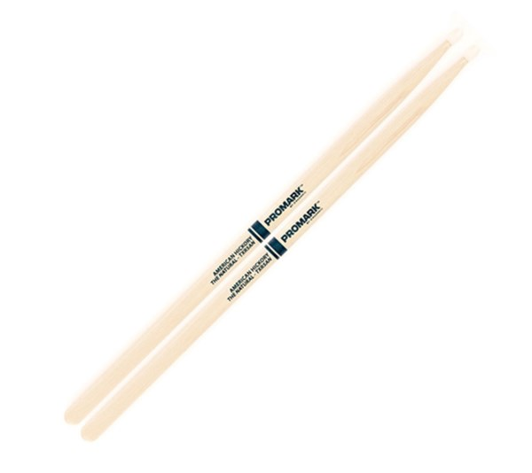 Promark TXR5AN American Hickory 5A Nylon Tip Drumsticks