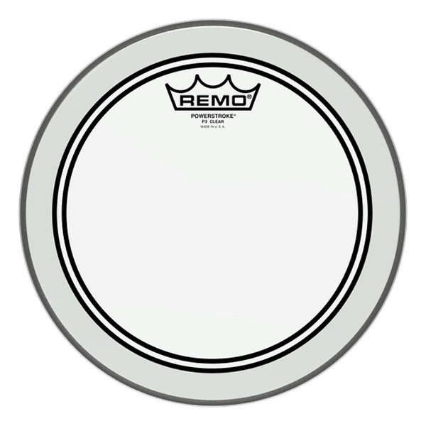 Remo P3-0310-BP 10-Inch Powerstroke 3 Clear Batter Head