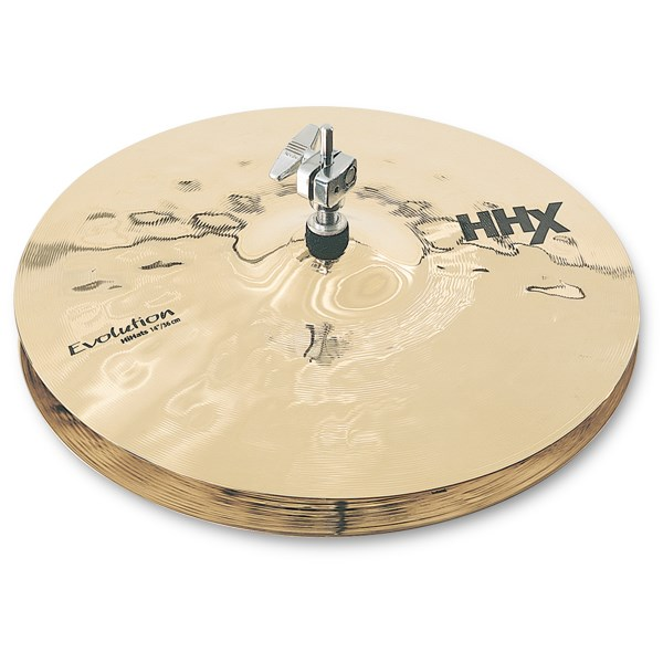 Sabian 11402XEB 14-Inch HHX Evolution Hi Hats - Brilliant Finish