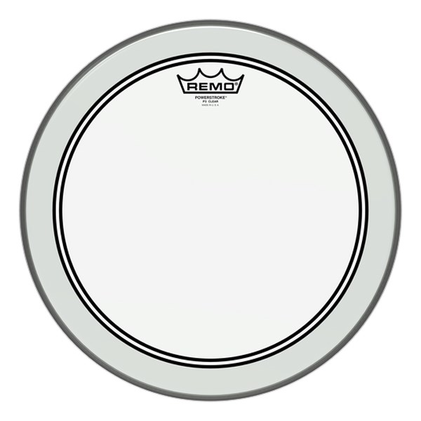 Remo P3-0313-BP 13-Inch Powerstroke 3 Clear Batter Head