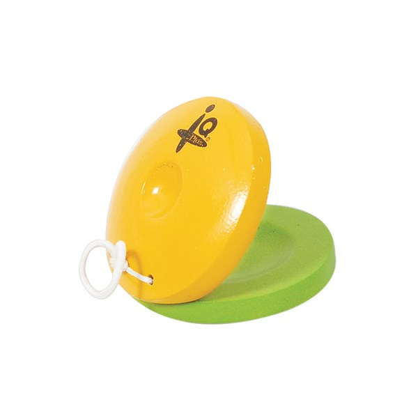 IQ Plus IQ-W006-01 Yellow & Green Castanet
