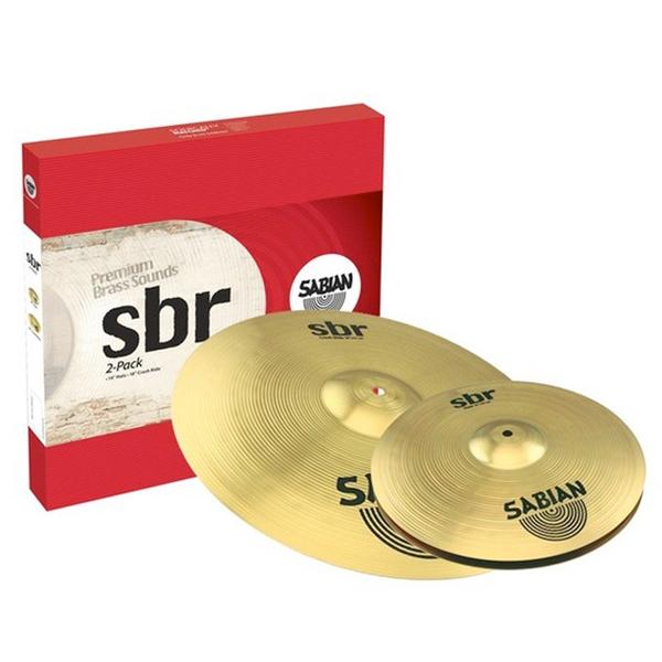 Sabian SBR5002 SBR Cymbals 2 Pack<br>SBR5002
