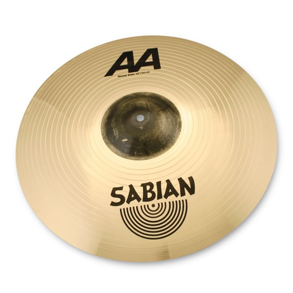 Sabian 22014MB 20-Inch AA Metal Ride Cymbal - Brilliant Finish