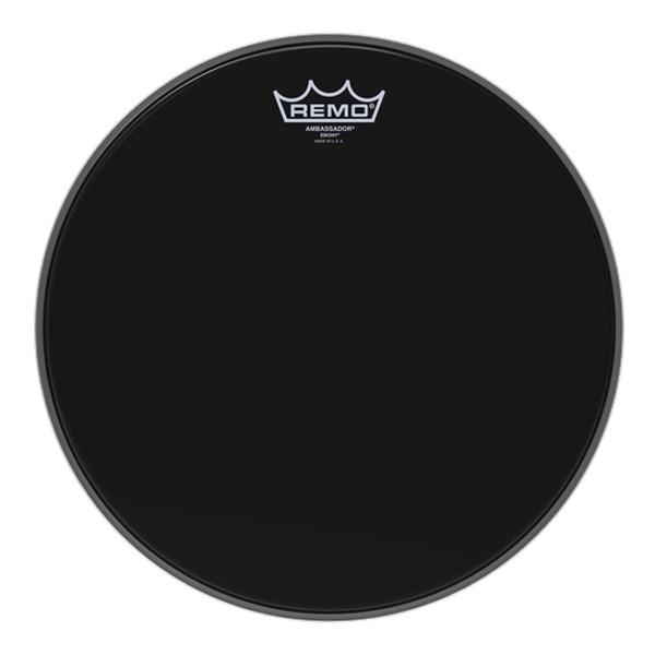 Remo ES-0013-00 Ebony Ambassador 13inch Drum Head