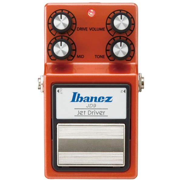 Ibanez JD9 9 Series Jet Driver Overdrive Guitar Effects Pedal
