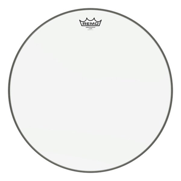 Remo BA-0318-00 18inch Clear Ambassador Batter Drumhead