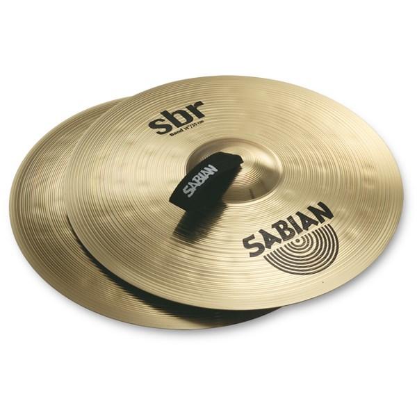 Sabian SBR1422 14 Inch SBR Concert Band Hand Cymbals