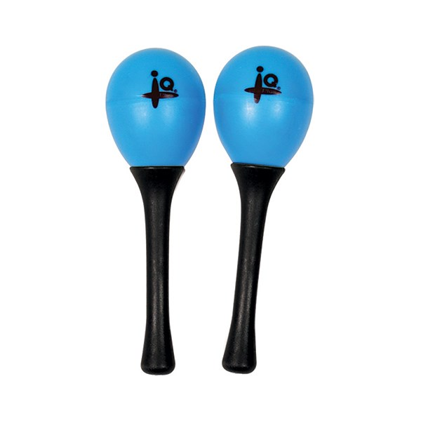 IQ Plus IQ-P028-00 Plastic Egg Maracas with 5inch Handles