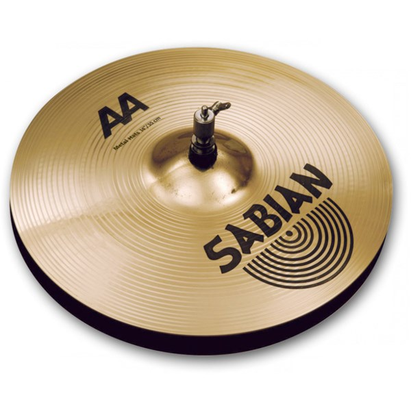 Sabian 21403MB AA 14-Inch Metal Hats Cymbals - Brilliant Finish