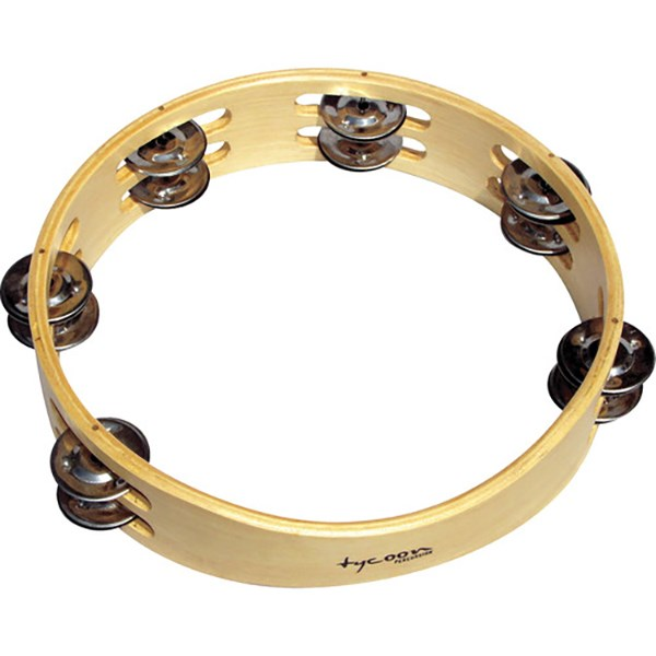 Tycoon TBW Wooden Tambourine