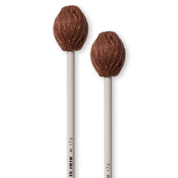 Vic Firth M172 Corpsmaster Hard Rubber Core Keyboard Mallets